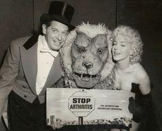 Marilyn Monroe at Madison Square Garden, New York, 1955.