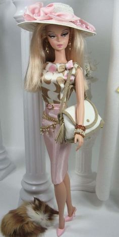 Pink Palisade and Spectator for Silkstone Barbie