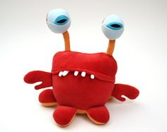 crayfish puppet.