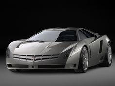 This Cadillac concept car looks like a fighter plane. Probably costs about the same too...