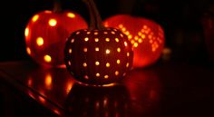 basteln mit kindern muster idee halloween lampe