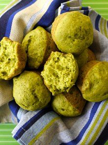 Spinach Cake Muffins-subbed 1 cup whole wheat for white flour and 1/4 cup honey for the sweetener.