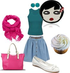 """""""Let's go and have some cup cake"""" by micmeron on Polyvore"""