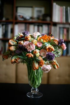 I is for Irene Parrot Tulips