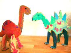 Dinosaur Stuffed Animal, Education, Toys, Animals, Cardboard Animals, Dinosaur Crafts, Kids Animals, Concert, Elephants