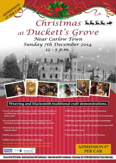 Christmas at Duckett's Grove -Vibrant Ireland and Travel