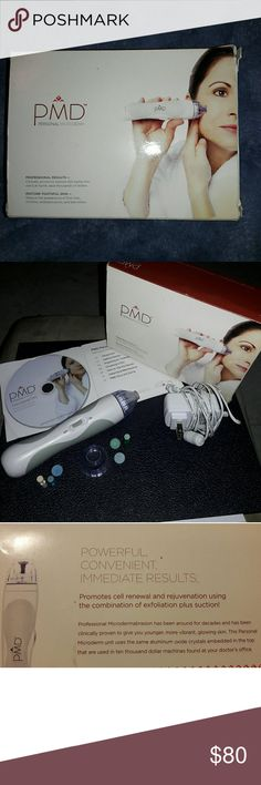 Personal Microderm device In great used condition  Everything you see in pics included 3 new buffers, 3 used Look me up in the m other store under JJ Makeup
