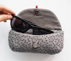 Sunglasses case, Glasses case and Eyeglasses DIY Tutorial