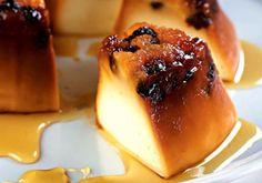 Receita de Pudim de pão com café e chocolate - Pudim - Dificuldade: Fácil - Calorias: 255 por porção