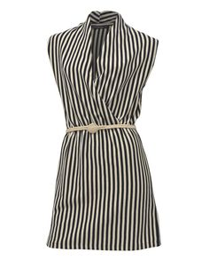 Greyson Stripe Dress by Living Doll | Bombo Clothing Co.