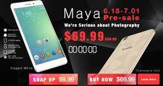 Interesante: ¡Rápido! a las 12:00 se ponen 10 Bluboo Maya a la venta por 9.99$