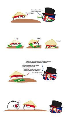 Munch Time ( Indonesia, UK, Japan ) by Scub_ Funny Art, Funny Memes, Poland Country, History Memes, Art Memes, Fun Comics, Just For Laughs, Hetalia, Funny Animals