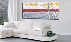 quadri astratti moderni in rilievo