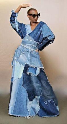 Jeans Outfits – Page 1968537743 – Lady Dress Designs Diy Jeans, Mode Jeans, Denim Ideas, Patchwork Jeans, Recycled Denim, Denim Outfit, Jeans Dress, Denim Fashion, Diy Clothes