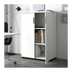 GALANT Kast met deuren - wit - IKEA