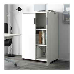GALANT Cabinet with doors - white - IKEA
