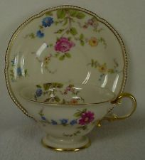 CASTLETON china SUNNYVALE pattern Cup & Saucer Set