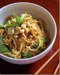 Low-Carb, High-Protein Pad Thai