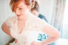 A Tea Length Dress for a Treehouse Wedding in the Spring | Love My Dress® UK Wedding Blog