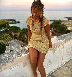 Another day in Paradise ⛵️❤️❤️❤️ #vanessamontorocrochet #vanessamontorostyle #handmadesilk #crochet ❤️❤️