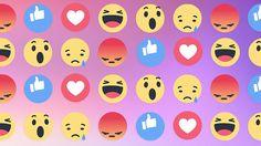 Nuove emoticon per Facebook: arrivano le Reactions #socialmedia