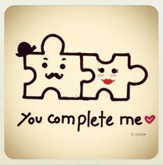 Puzzle pieces. Always!