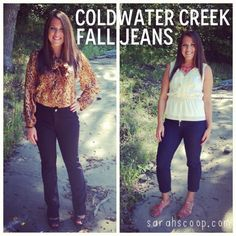 Coldwater Creek Fall Jeans and Giveaway
