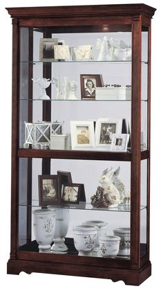 Howard Miller 680-337 Dublin Curio Cabinet