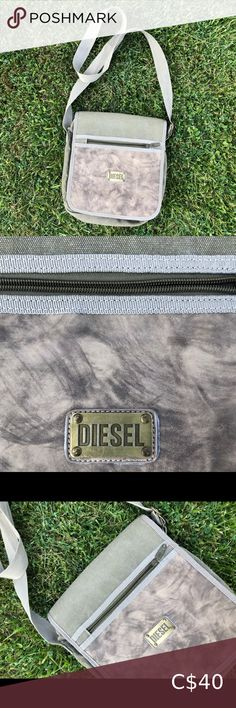 Diesel messenger bag Diesel messenger bag In great excellent condition  Good size for books/laptops Diesel Bags Messenger Bags Vintage Messenger Bag, Messenger Bag Men, Diesel, Conditioner, Satchel, Crossbody Bag, Nike Pullover, Half Zip Sweaters, Purple Reign
