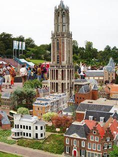 Madurodam minature world, The Hague, Netherlands.