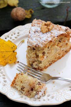 Różowa Patera: Ciasto orzechowo-cynamonowe z jabłkami i chrupiącą skórką Buddha Bowl, French Toast, Food And Drink, Breakfast, Bakken, Breads, Morning Coffee