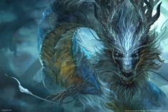 Storm Dragon by VargasNi.deviantart.com on @deviantART