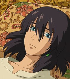 How can you sigh like that when you're so beautiful? *^* Howl <3