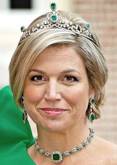 Tiara #41: the Tiara of the Emerald Parure When:...