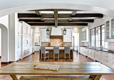 Spanish Accent Home - traditional - kitchen - phoenix - Palm Design Group