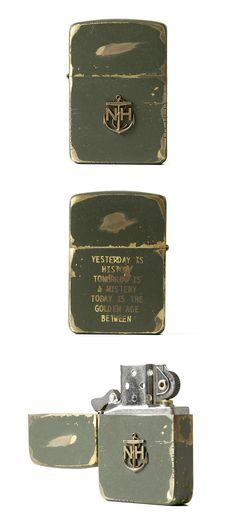 Must have lighter / No fumo pero me encantan los encendedores.