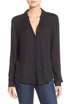 PAIGE 'Everleigh' Shirt. #paige #cloth #