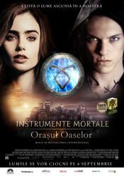 The Mortal Instruments: City of Bones - Instrumente mortale: Orașul oaselor. Sinoposis The Mortal Instruments: City of Bones: The Mortal Instruments, Immortal Instruments, Cassandra Clare, City Of Bones, Lily Collins, Galera Record, To The Bone Movie, Two Worlds, Constantin Film
