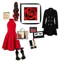 """Romantic gift"" by lashonda-warley on Polyvore featuring Miss Selfridge, Isabel Marant, River Island, Gucci, Dolce&Gabbana and NARS Cosmetics"