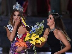 Miss Colombia Ariadna Gutierrez Arevalo , is crowned the new Miss Universe by Miss Universe 2014 Paulina Vega after host Steve Harvey mistakenly named Gutierrez Arevalo the winner instead of. Get premium, high resolution news photos at Getty Images Miss Universe Swimsuit, Miss Colombia, First Citizens, Miss Philippines, Planet Hollywood, Steve Harvey, Miss World, Beauty Queens, Pageant