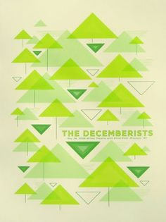 The Decemberists Poster