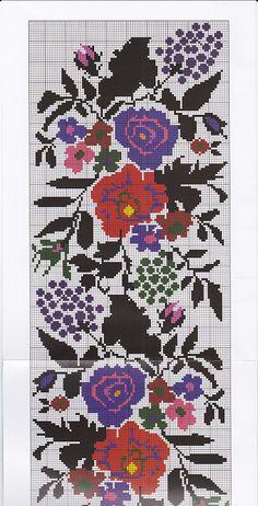 Tapestry Crochet, Knitting Charts, Crochet Flowers, Needlepoint, Cross Stitch Patterns, Hobbit, Folk, Kids Rugs, Embroidery
