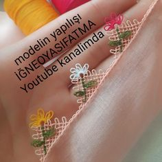 Lace Patterns, Baby Knitting Patterns, Hand Embroidery Videos, Tatting Lace, Needle Lace, Bargello, Flower Power, Needlework, Crochet
