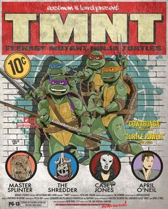I haven't seen this movie in theaters since I was 8 years old. I'm legitimately excited to watch it tonight at @tmntfrida. Print available at averagejoeart.storenvy.com #tmnt #ninjaturtles #teenagemutantninjaturtles #heroesinahalfshell #turtlepower #art #artist #artwork #illustration #draw #drawing #customart #customartwork #leonardo #donatello #michelangelo #raphael #theshredder by averagejoeart