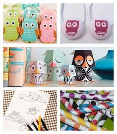 Owls, Owls and more OWLS! <3 it!