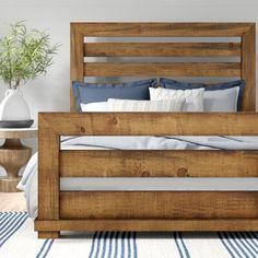 King Bed Frame, Bed Frame And Headboard, Diy Queen Bed Frame, Homemade Bedroom Furniture, Furniture Making, Furniture Ideas, Homemade Beds, Homemade Bed Frames, Homemade Headboards