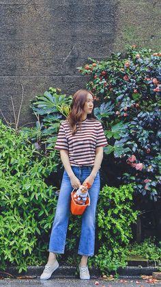 Krystal Fx, Jessica & Krystal, Casual Outfits For Girls, Girl Outfits, Snsd Fashion, Korean Fashion, Krystal Jung Fashion, Girl Korea, New Journey
