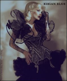 Corset by Bibian Blue. Model is Sabina Kelley. Photographer is Robert John Kley.