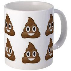 poop emoji Mugs Emoji Love, Cute Emoji, Emoji Mug, Emoticon, Emoji Board, Heart Emoji, Kawaii, Icarly, Its My Bday