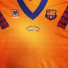 TEAM- @fcbarcelona / SHIRT- 1992 Away Champions of Europe / BRAND- @meybabarcelona